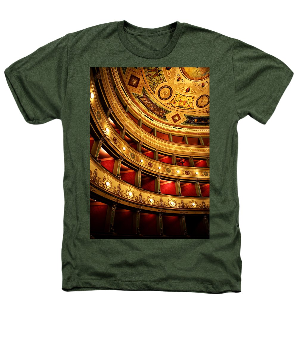 Theatre Heathers T-Shirt featuring the photograph Glorious Old Theatre by Marilyn Hunt