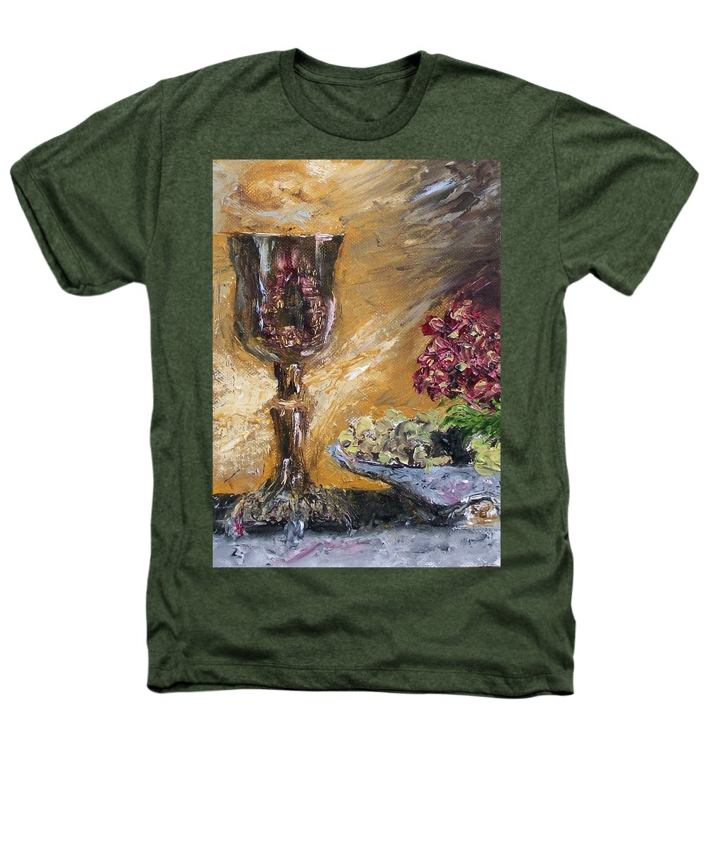 Heathers T-Shirt featuring the painting Goblet by Stephen King