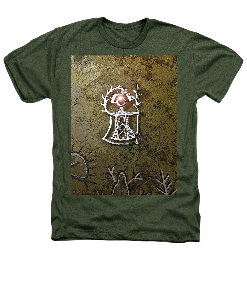 Goddess Heathers T-Shirt featuring the digital art Goddess Of Fertility by Merja Waters