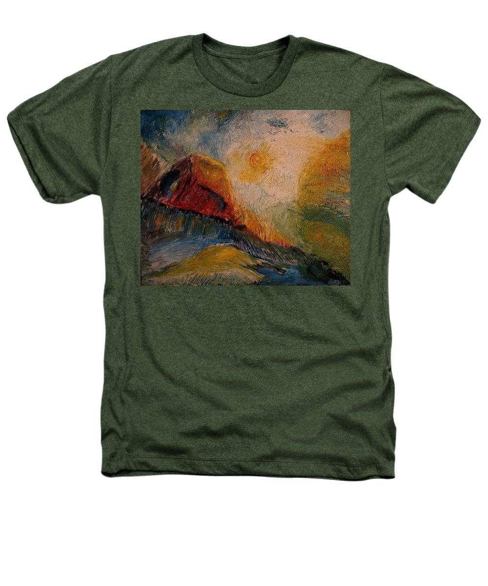 Rede Heathers T-Shirt featuring the painting Harvast by Jack Diamond