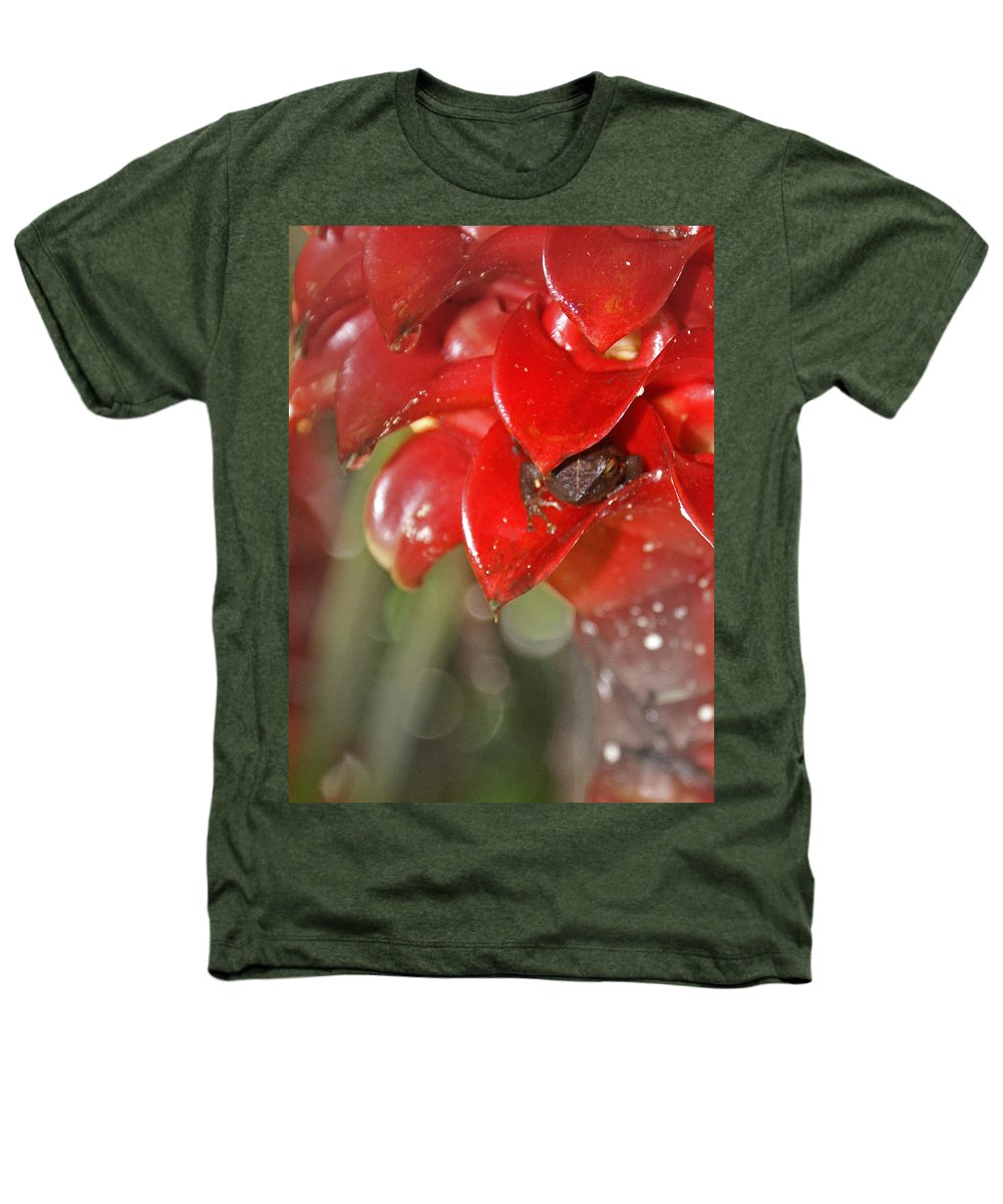 Frog Heathers T-Shirt featuring the digital art Hawaiian Frog by Heather Coen