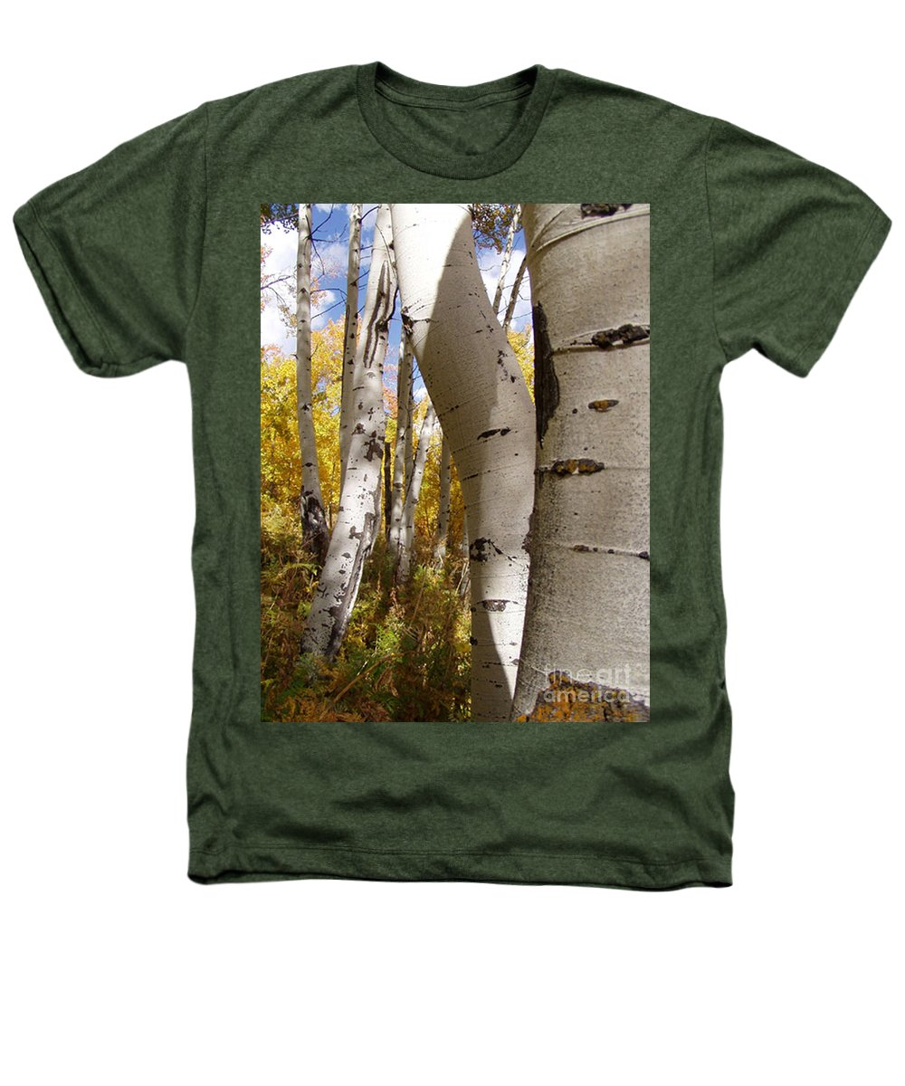 Trees Heathers T-Shirt featuring the photograph Jackson Hole Wyoming by Amanda Barcon