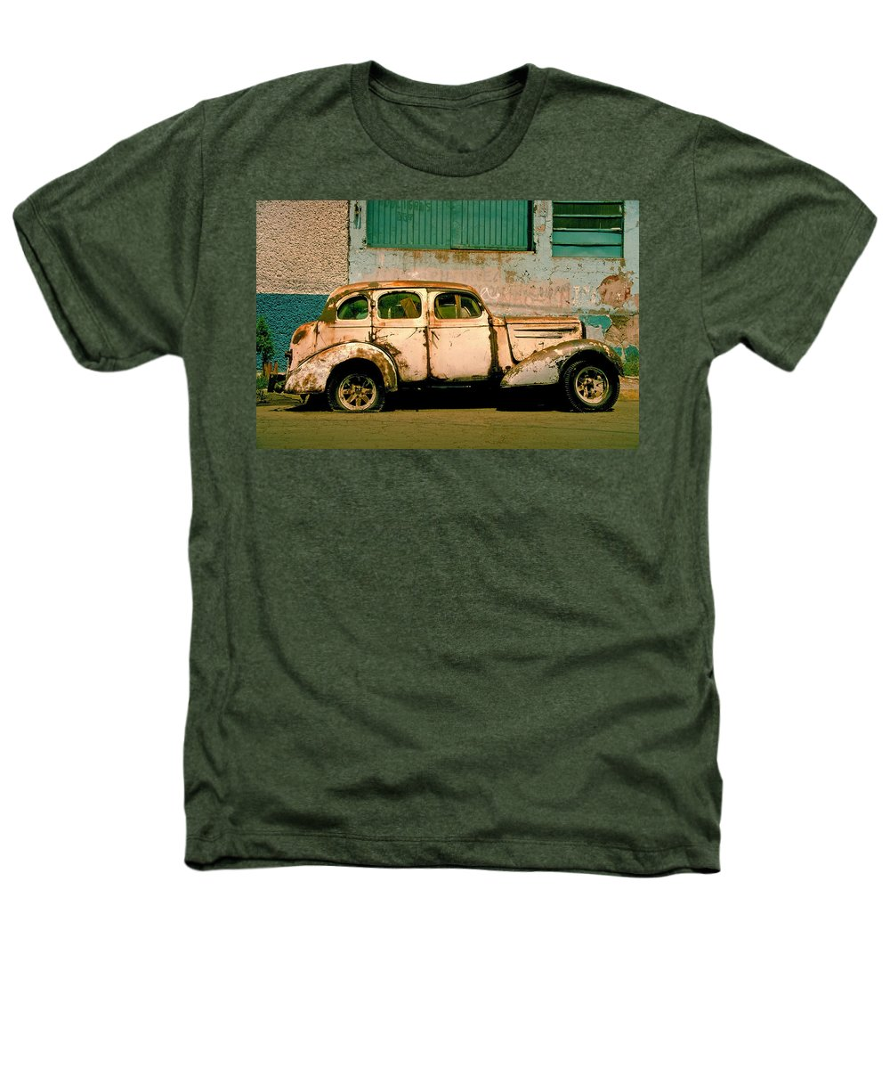 Skip Heathers T-Shirt featuring the photograph Jalopy by Skip Hunt