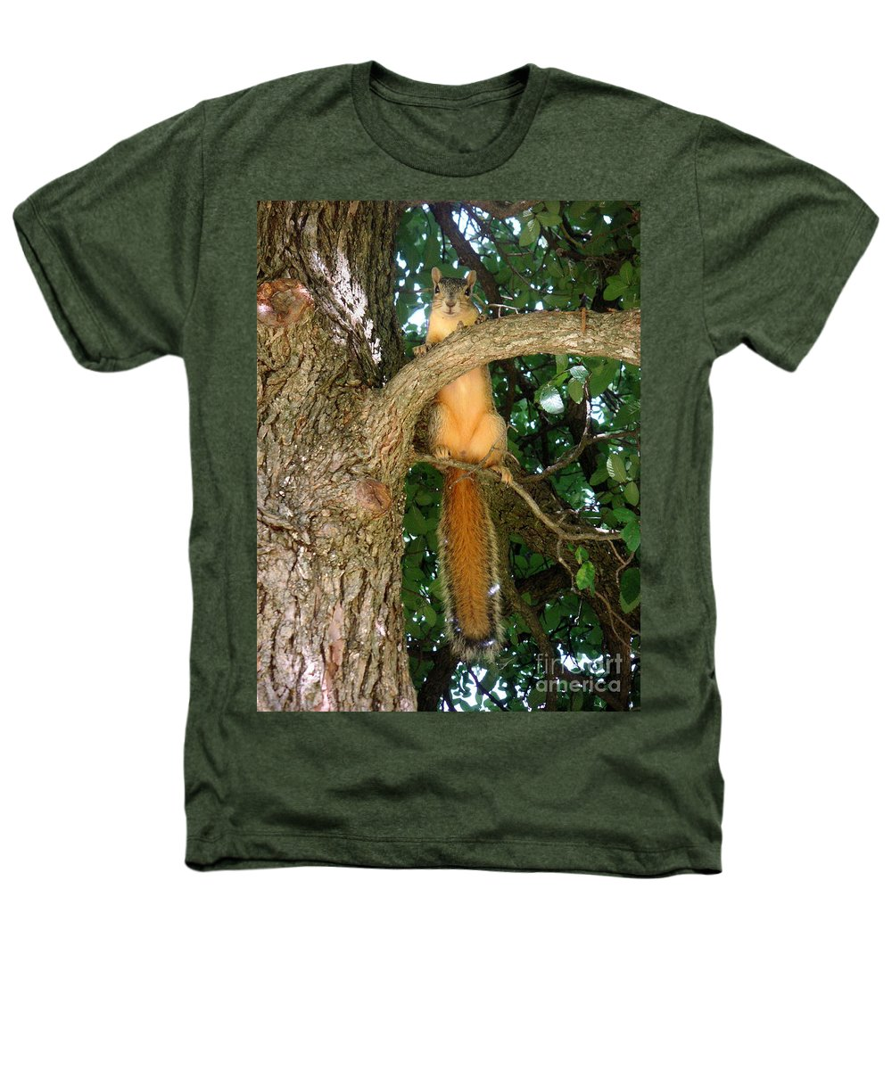Nature Heathers T-Shirt featuring the photograph Just Hanging Around by Lucyna A M Green