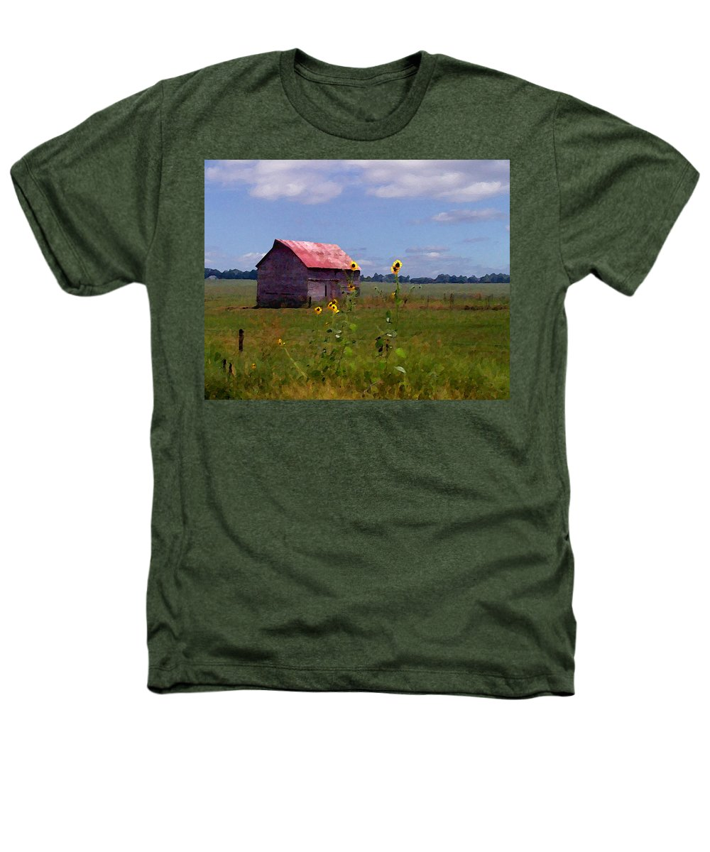 Lanscape Heathers T-Shirt featuring the photograph Kansas Landscape by Steve Karol