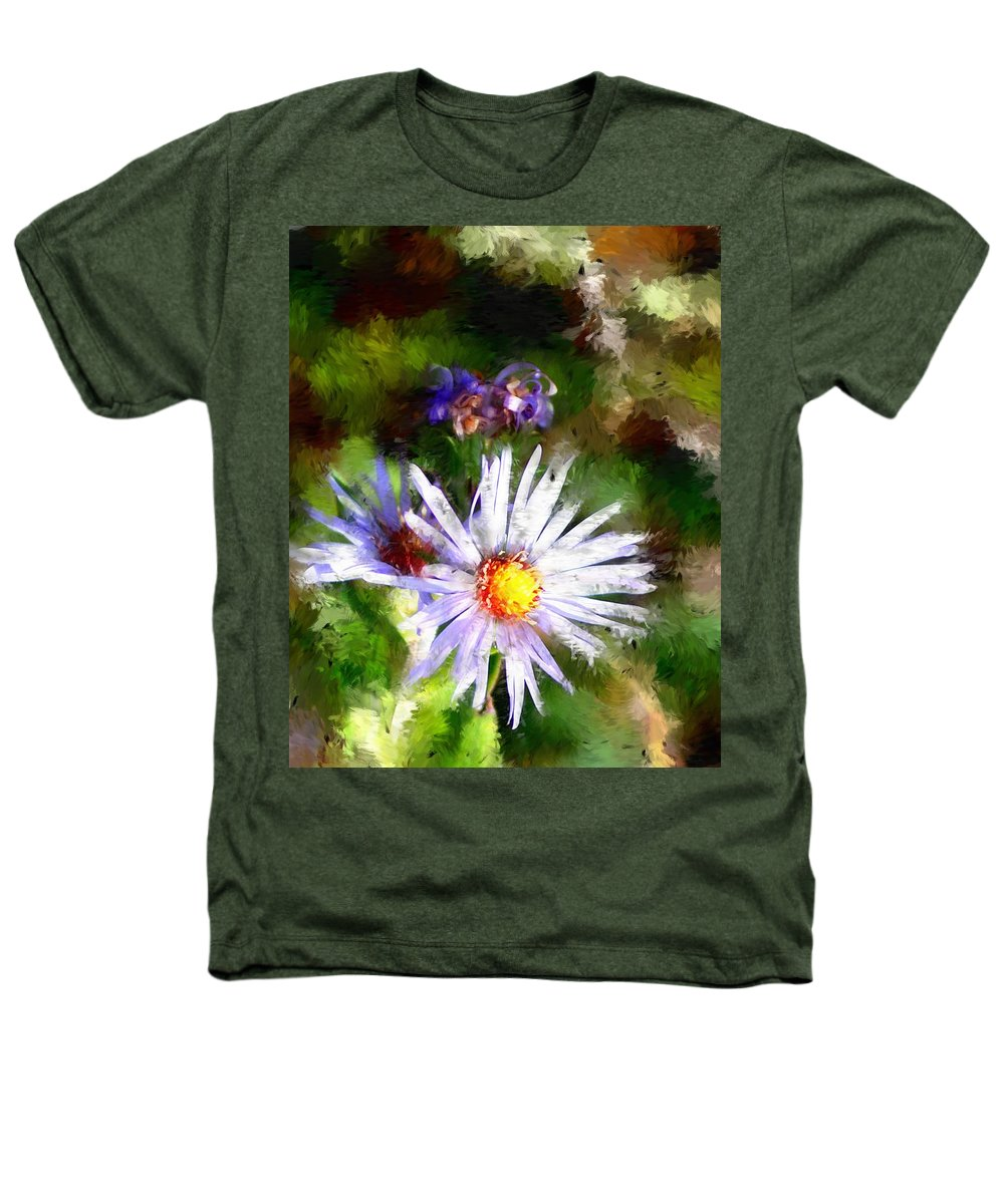 Flower Heathers T-Shirt featuring the photograph Last Rose Of Summer by David Lane
