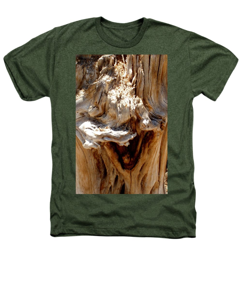 Tree Heathers T-Shirt featuring the photograph Laughing Tree by Wayne Potrafka