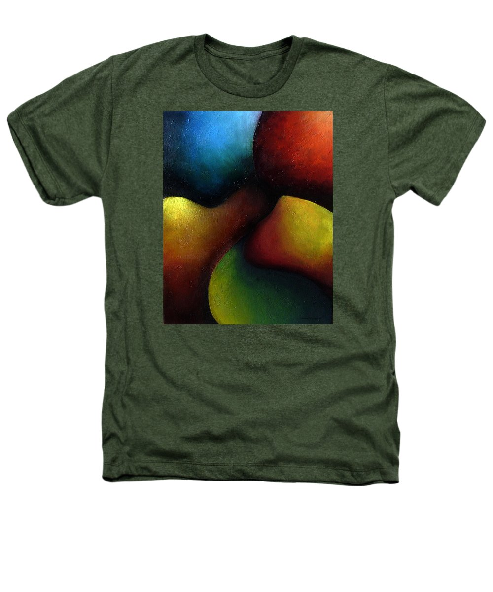 Fruit Heathers T-Shirt featuring the painting Life's Fruit by Elizabeth Lisy Figueroa