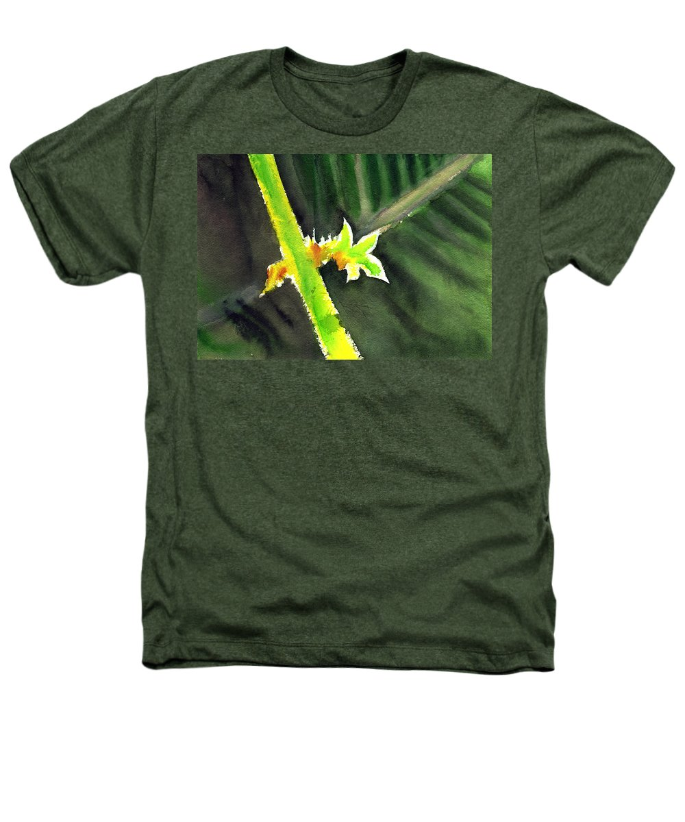 Water Color Heathers T-Shirt featuring the painting Light Branch by Anil Nene