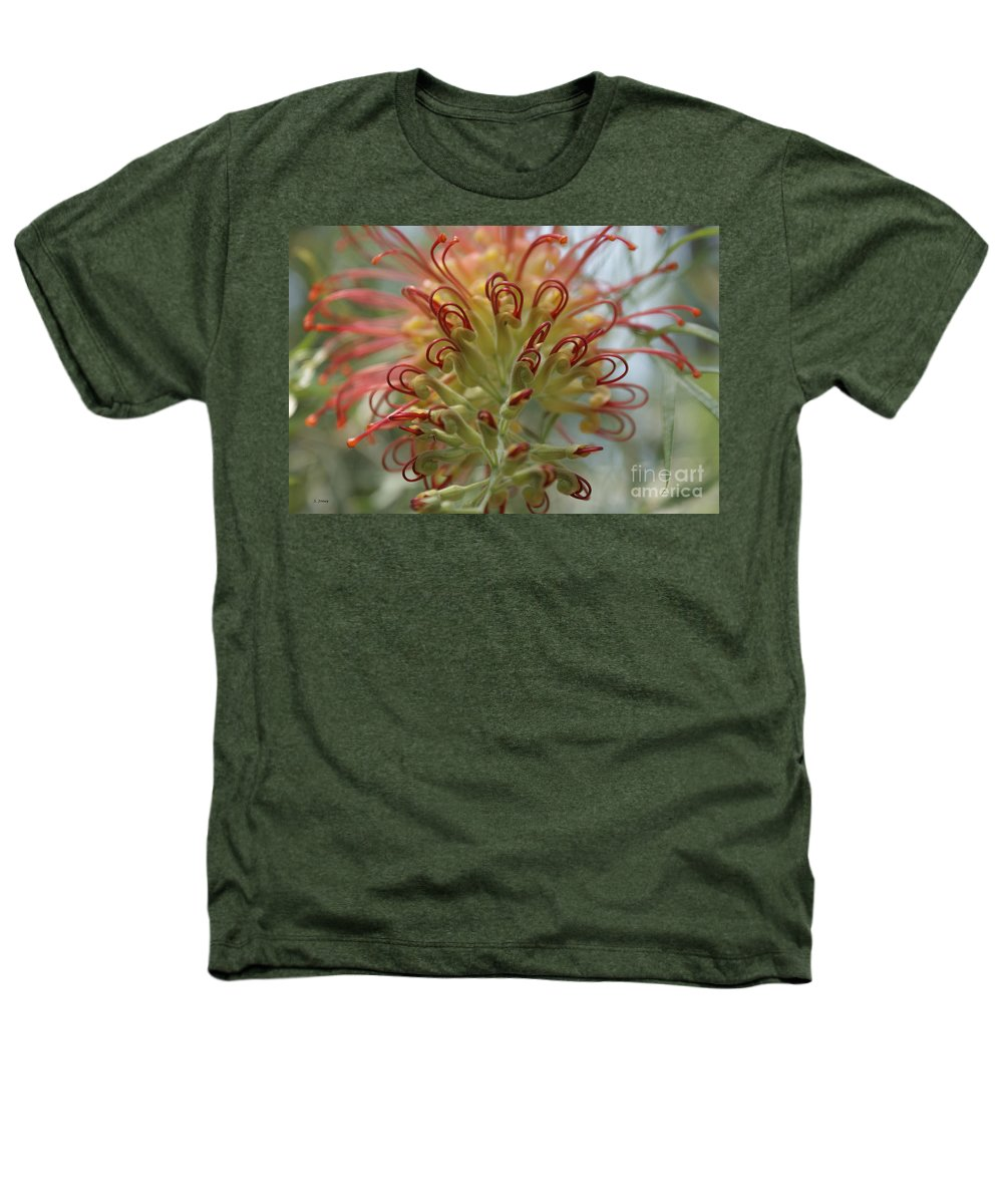 Floral Heathers T-Shirt featuring the photograph Like Stems Of A Cherry by Shelley Jones