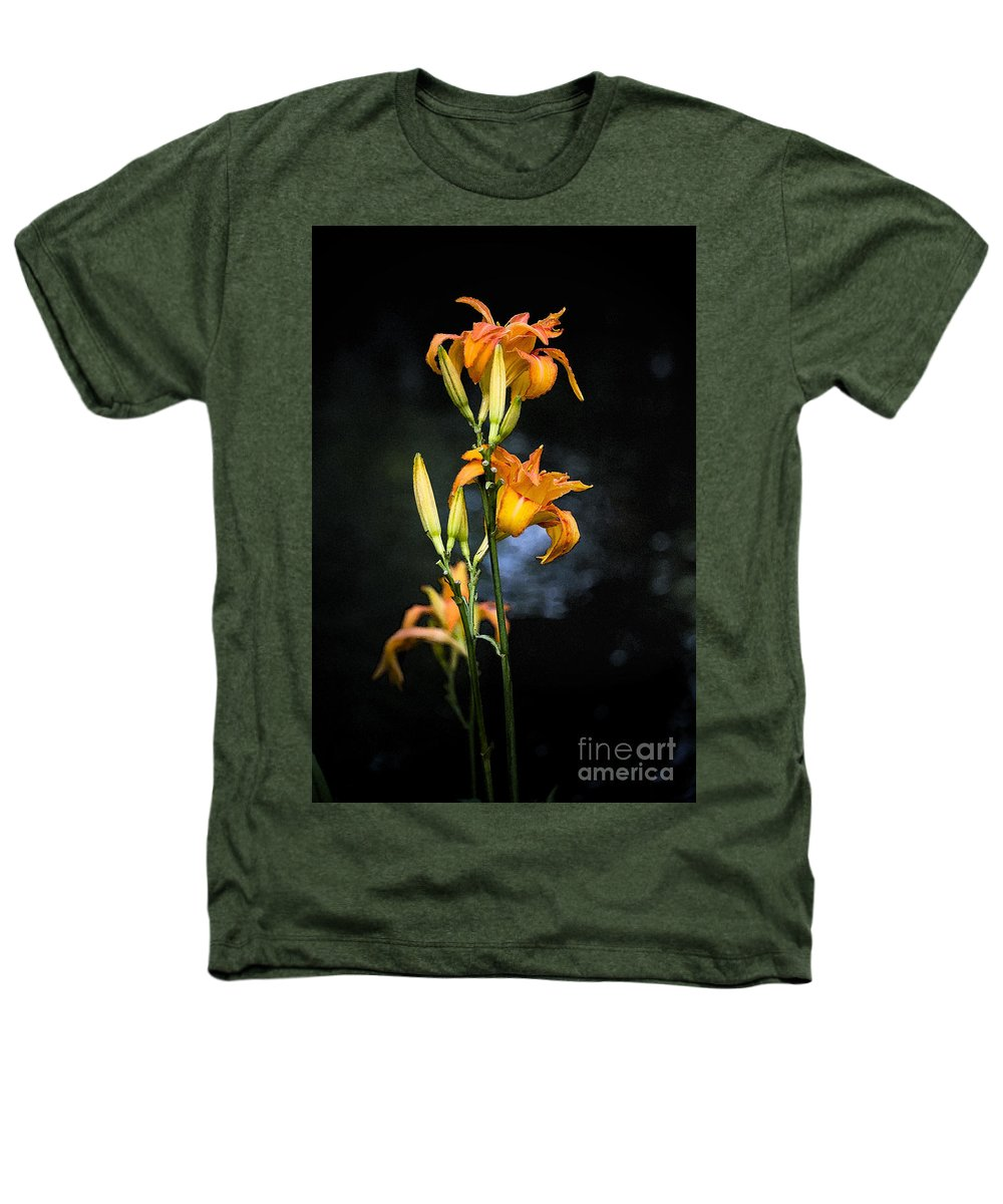 Lily Monet Garden Flora Heathers T-Shirt featuring the photograph Lily In Monets Garden by Sheila Smart Fine Art Photography