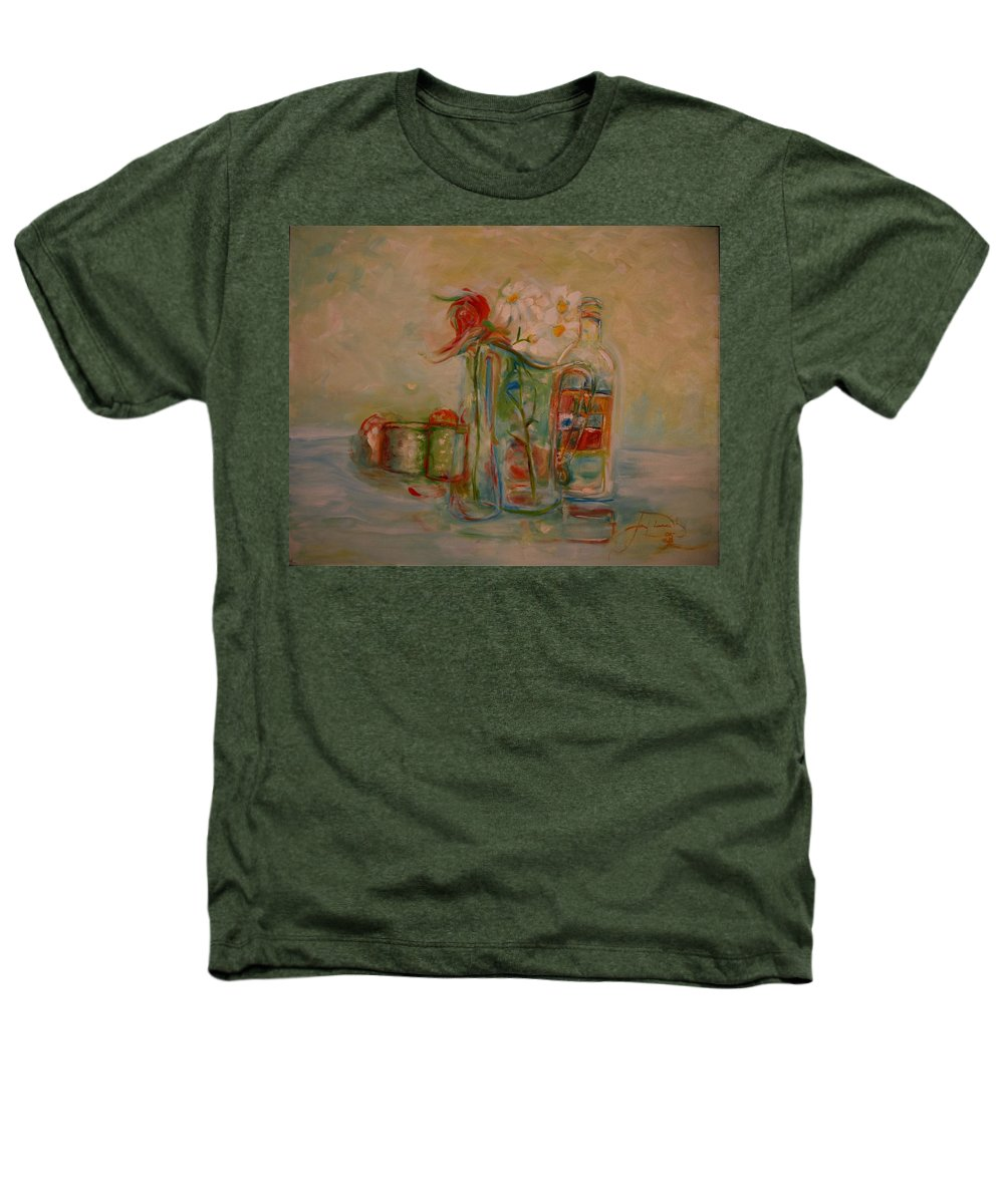 Rose Heathers T-Shirt featuring the painting Lovers Picnic by Jack Diamond