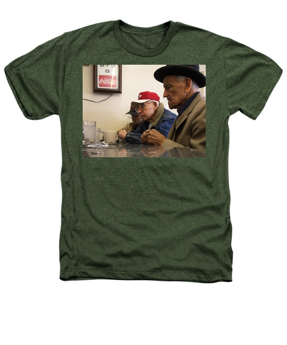 Diner Heathers T-Shirt featuring the photograph Lunch Counter Boys by Tim Nyberg