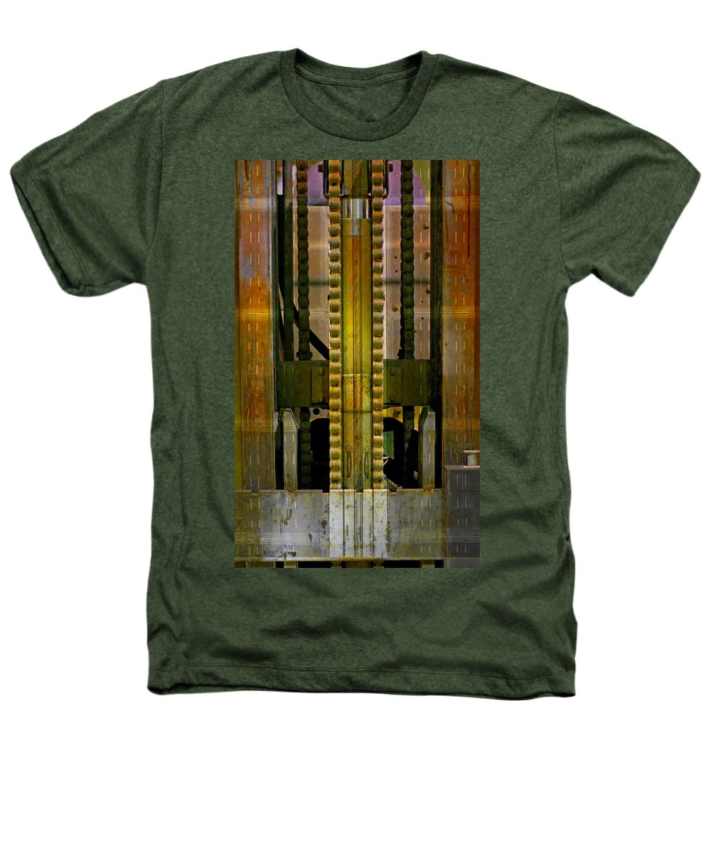 Texture Heathers T-Shirt featuring the photograph Machina by Skip Hunt