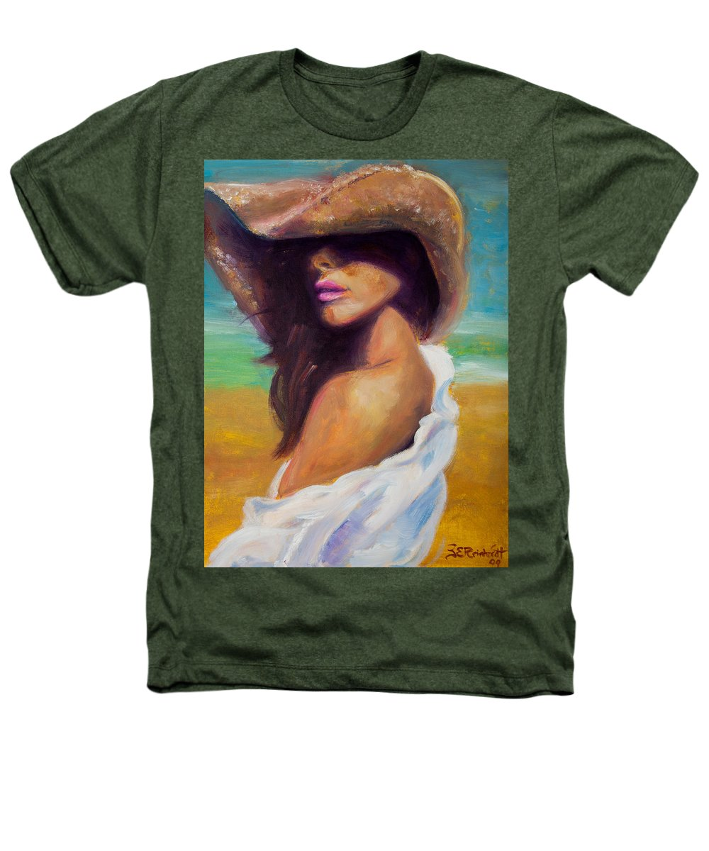 Girl Heathers T-Shirt featuring the painting Made In The Shade by Jason Reinhardt