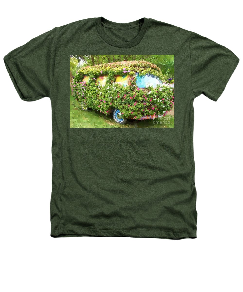 Volkswagen Heathers T-Shirt featuring the photograph Magic Bus by Debbi Granruth