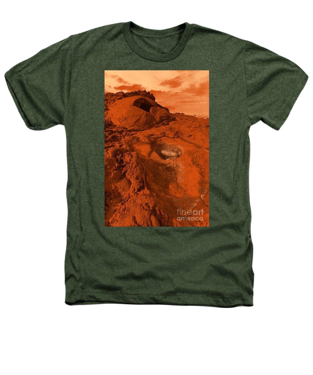 Alien Heathers T-Shirt featuring the photograph Mars Landscape by Gaspar Avila