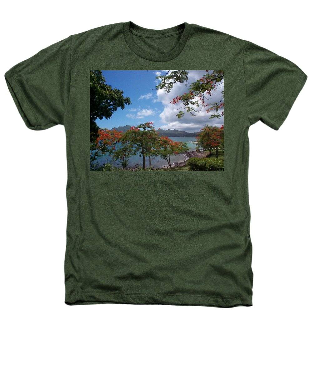 Donation Heathers T-Shirt featuring the photograph Martinique by Mary-Lee Sanders