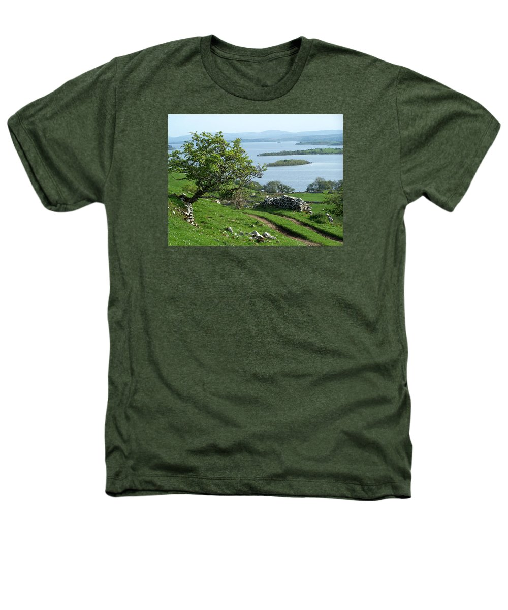 Ireland Heathers T-Shirt featuring the photograph May The Road Rise To Meet You by Teresa Mucha