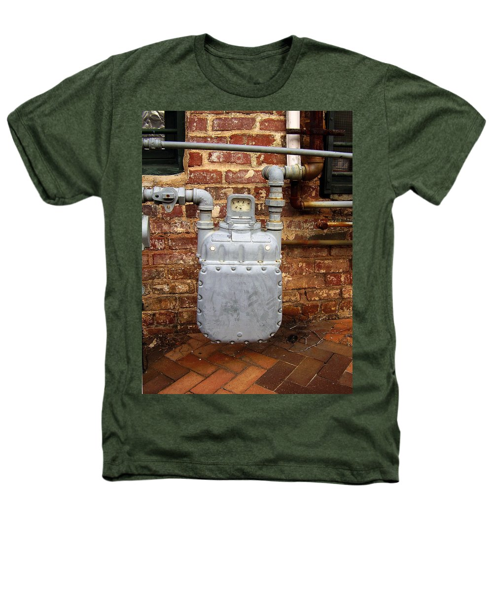 Meter Heathers T-Shirt featuring the photograph Meter II In Athens Ga by Flavia Westerwelle
