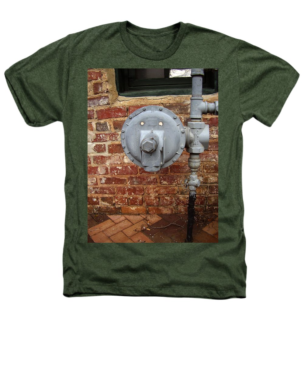 Meter Heathers T-Shirt featuring the photograph Meter In Athens Ga by Flavia Westerwelle