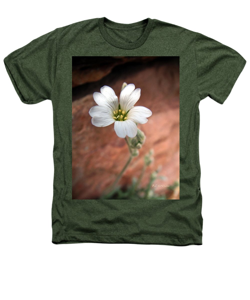 Alpine Heathers T-Shirt featuring the photograph Mountain Beauty by RC DeWinter