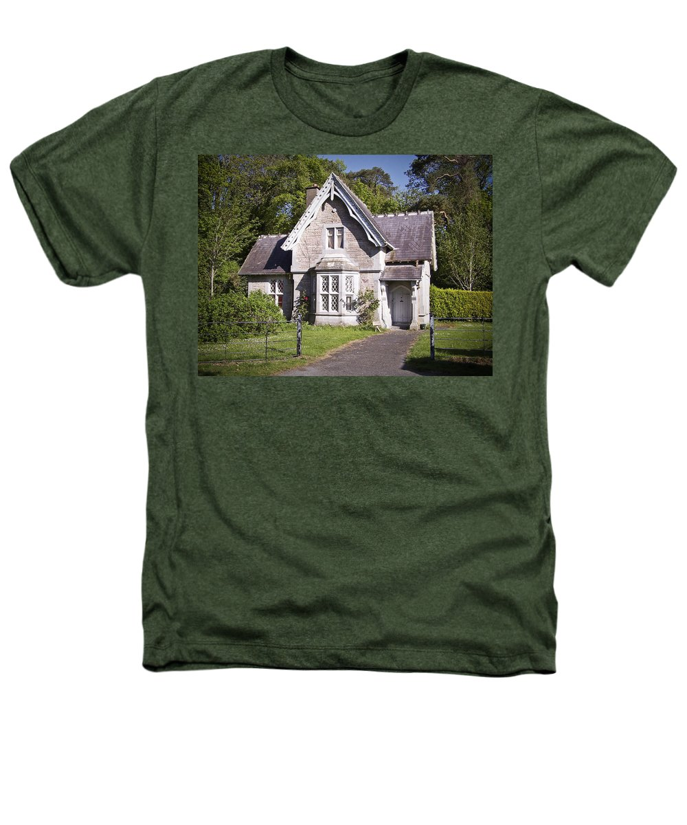 Irish Heathers T-Shirt featuring the photograph Muckross Cottage Killarney Ireland by Teresa Mucha