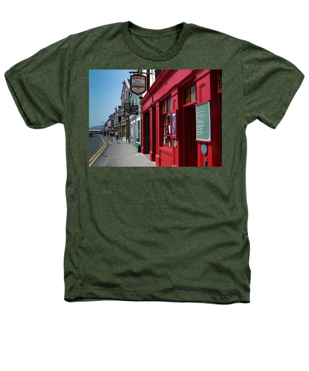 Irish Heathers T-Shirt featuring the photograph Murphys Bed And Breakfast Dingle Ireland by Teresa Mucha