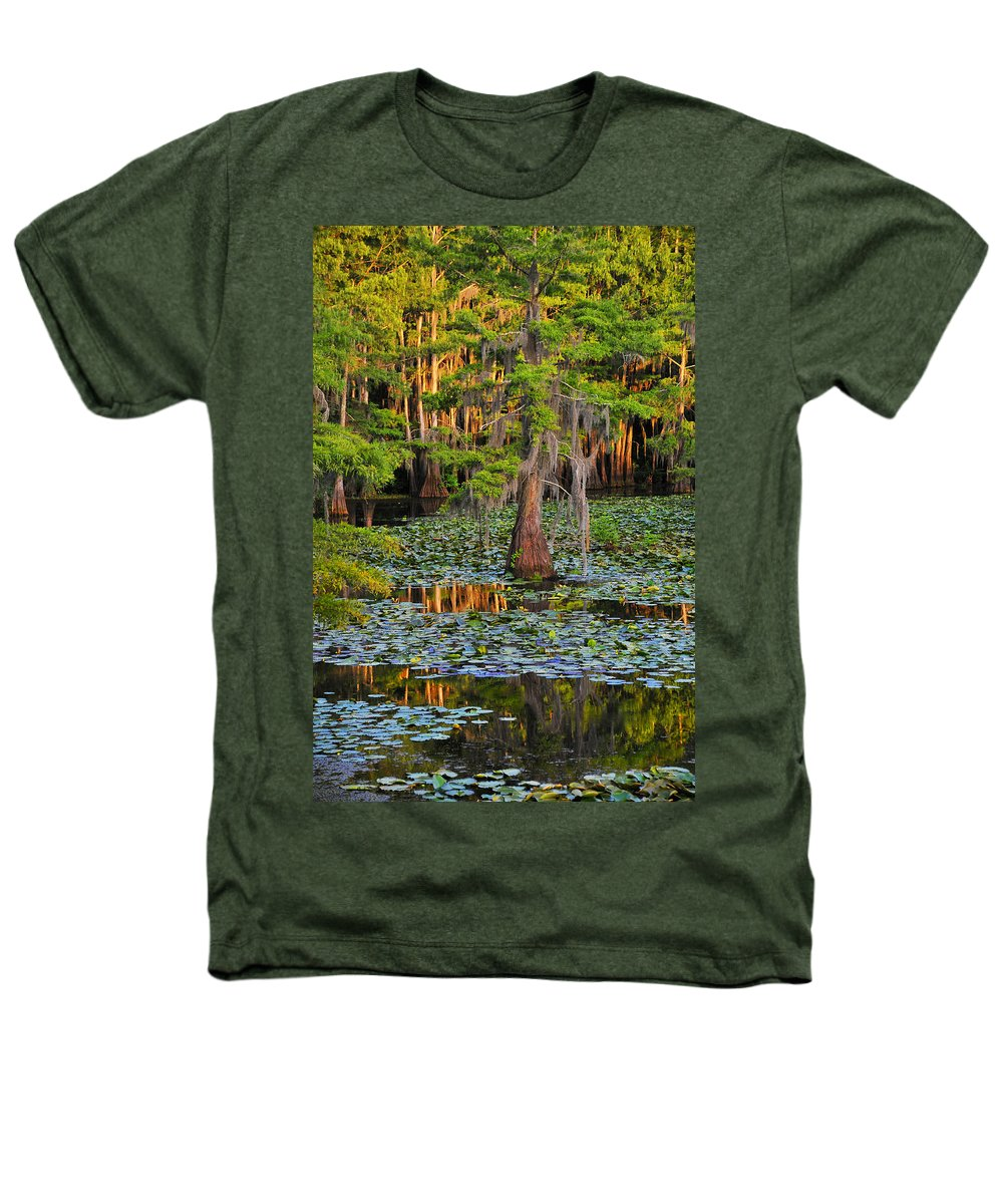 Bog Heathers T-Shirt featuring the photograph Naked by Skip Hunt