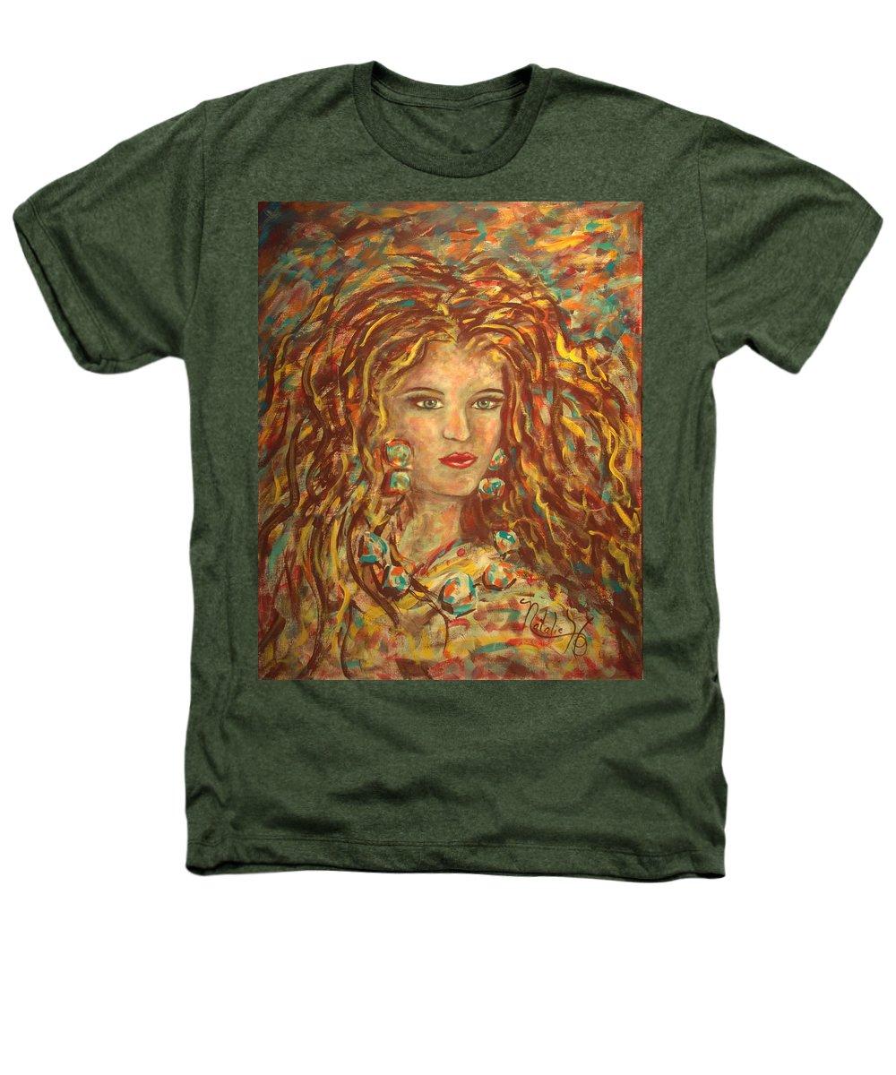 Natashka Heathers T-Shirt featuring the painting Natashka by Natalie Holland