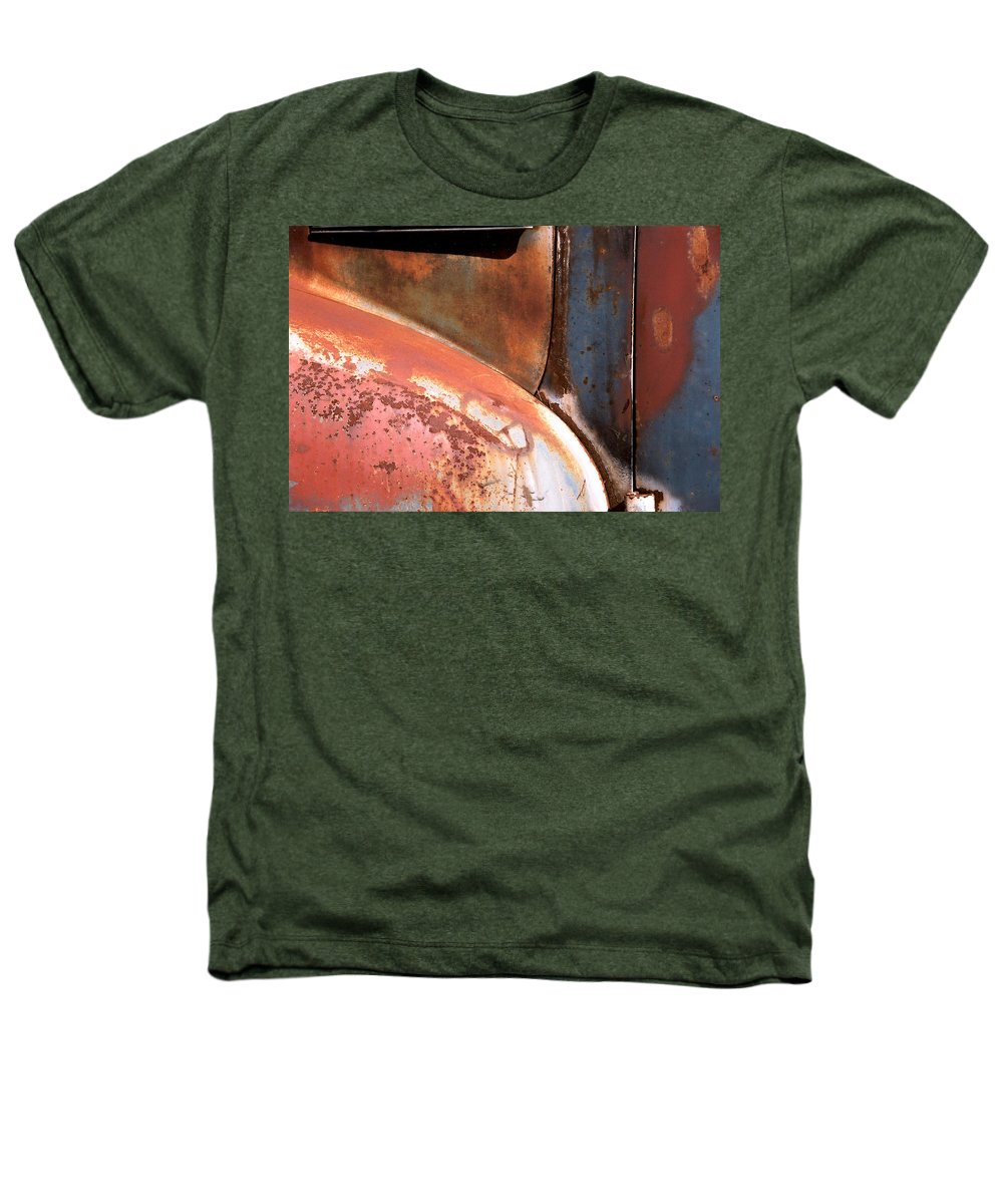 Abstract Heathers T-Shirt featuring the photograph Panel From Ole Bill by Steve Karol
