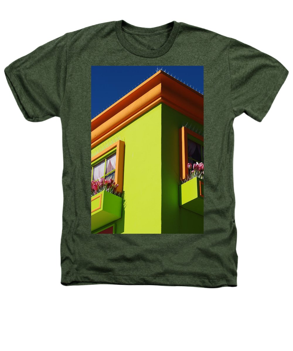 Sky Heathers T-Shirt featuring the photograph Pastle Corners by Rob Hans