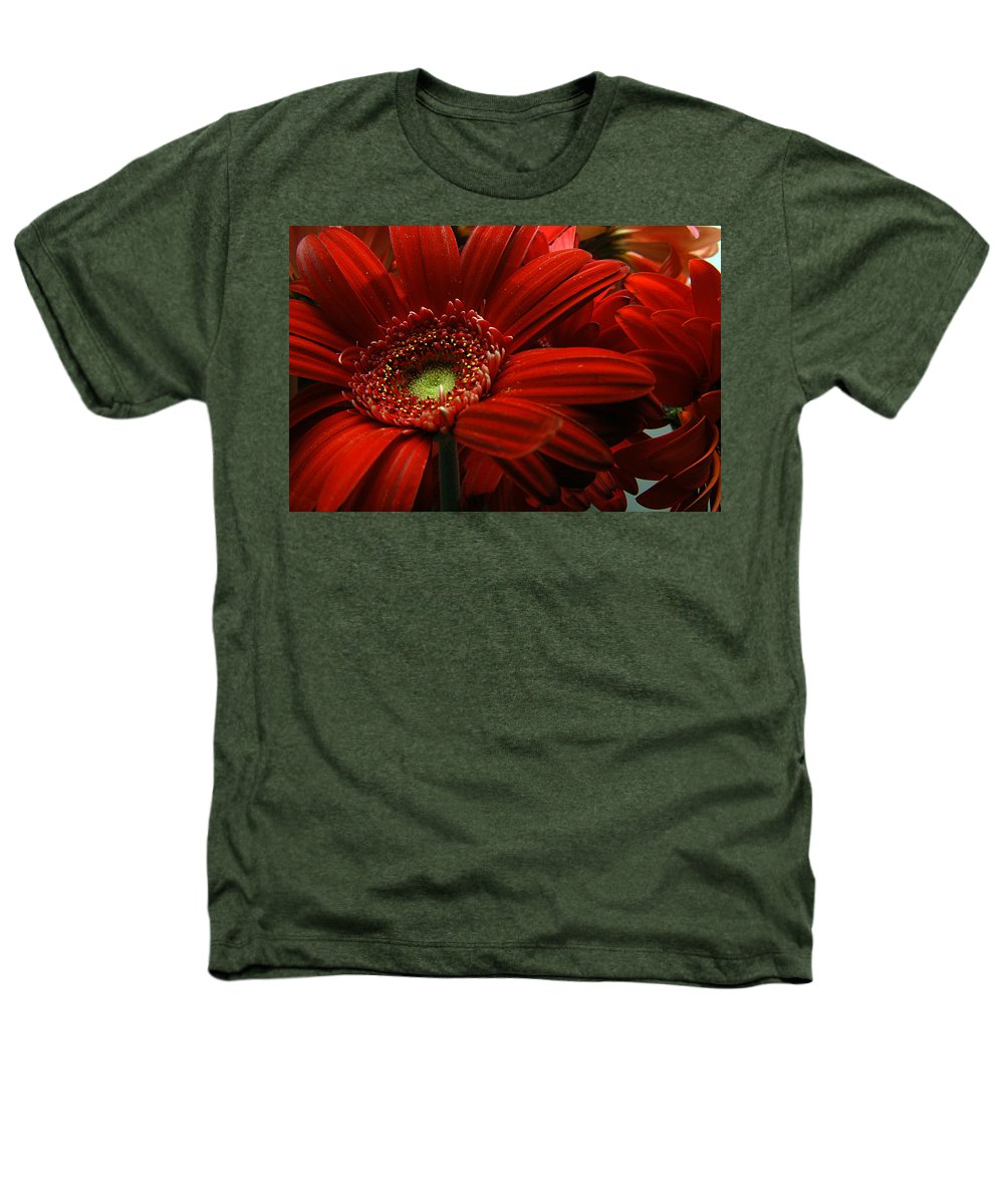 Clay Heathers T-Shirt featuring the photograph Red Floral by Clayton Bruster