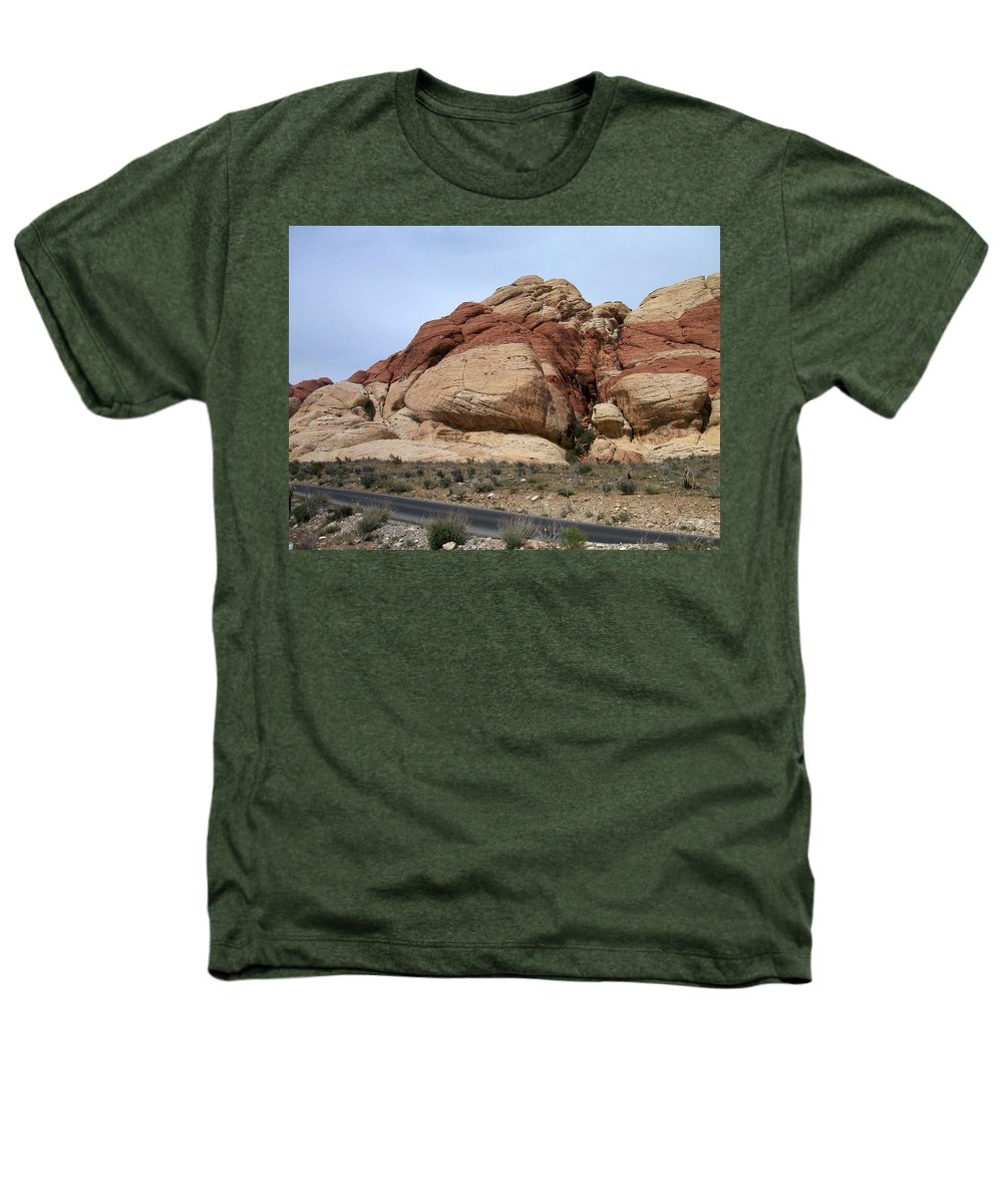Red Rock Canyon Heathers T-Shirt featuring the photograph Red Rock Canyon 2 by Anita Burgermeister