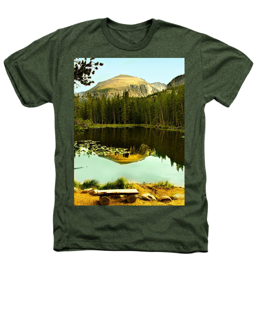 Reflection Heathers T-Shirt featuring the photograph Reflection by Marilyn Hunt