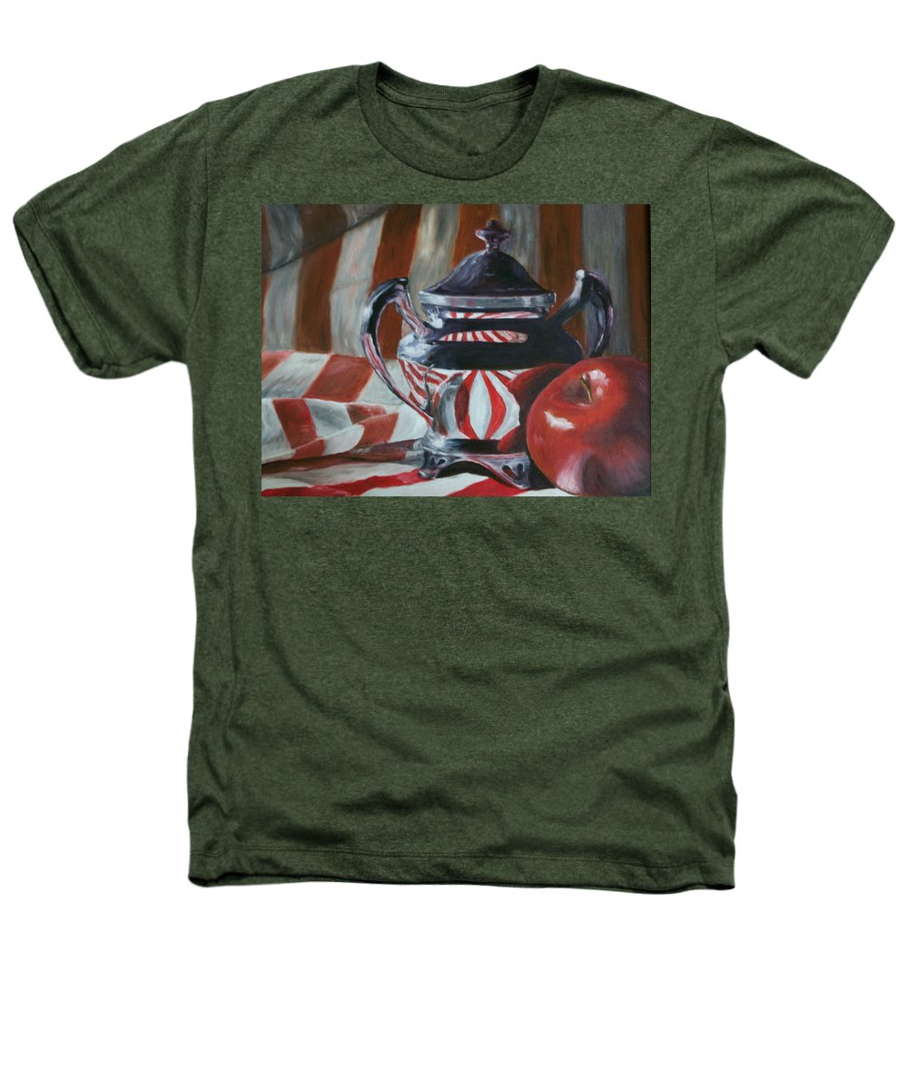 Still Life Heathers T-Shirt featuring the painting Reflections by Stephen King