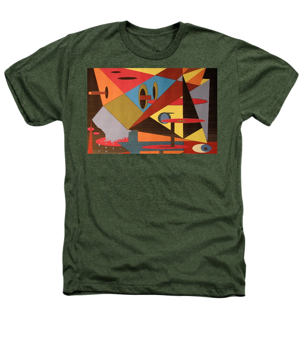 Abstract Heathers T-Shirt featuring the digital art Regret by Ian MacDonald
