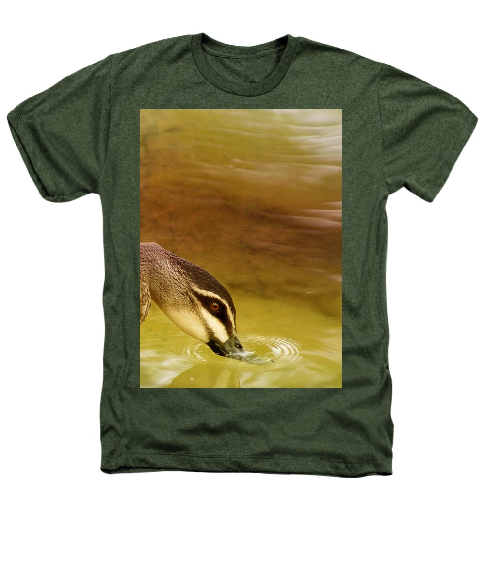 Animals Heathers T-Shirt featuring the photograph Ripples by Holly Kempe