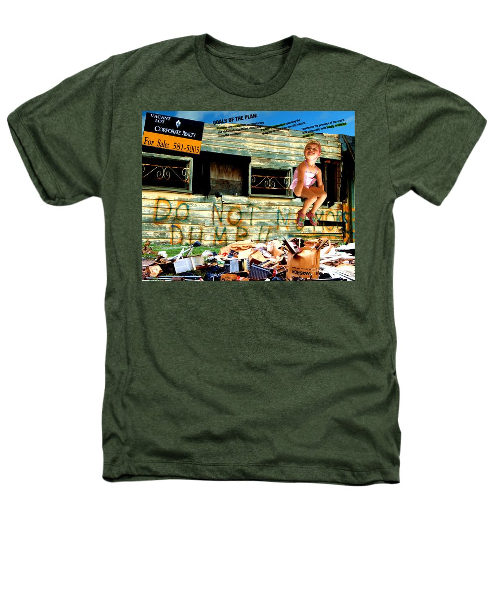 Riverfront Development Heathers T-Shirt featuring the photograph Riverfront Visions by Ze DaLuz