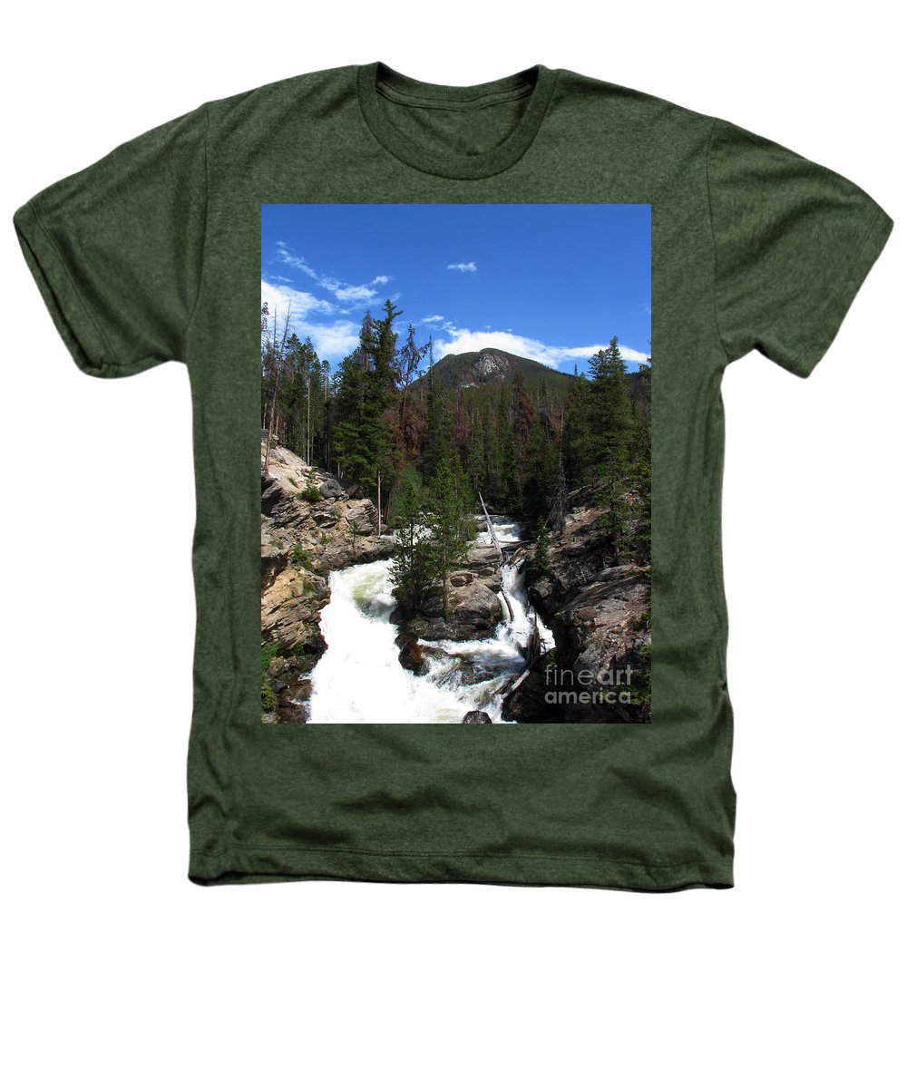 Colorado Heathers T-Shirt featuring the photograph Roar by Amanda Barcon
