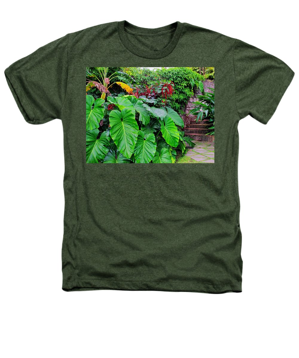 Lush Heathers T-Shirt featuring the photograph Romney Steps by Ian MacDonald