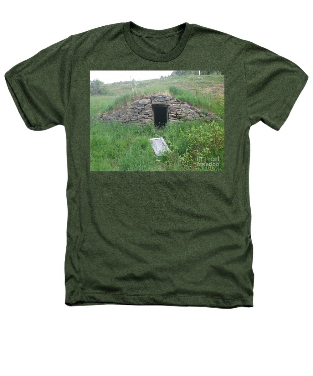 Photograph Cellar Old Green Newfoundland Heathers T-Shirt featuring the photograph Root Cellar by Seon-Jeong Kim