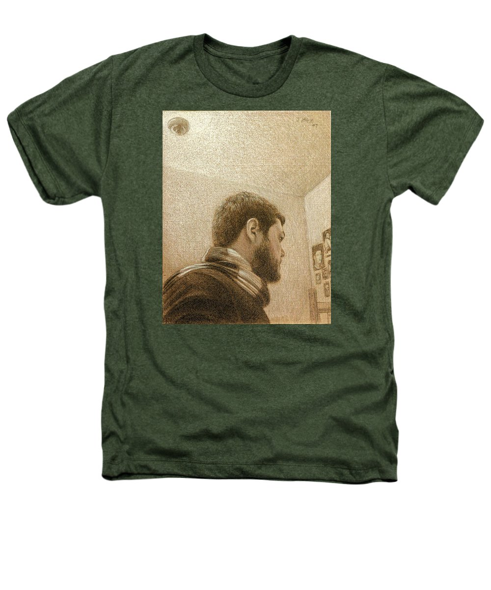 Heathers T-Shirt featuring the painting Self by Joe Velez