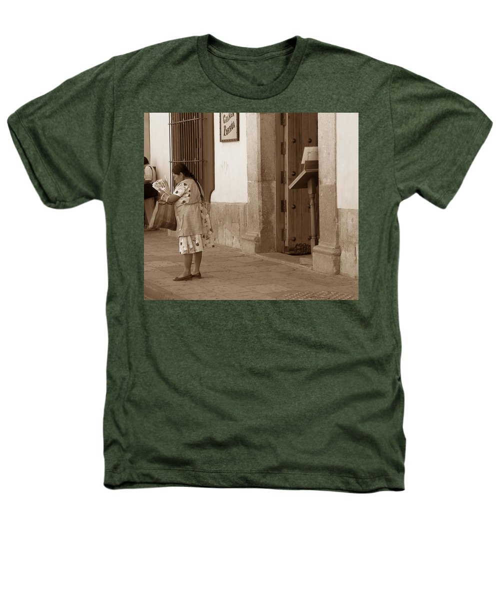 Charity Heathers T-Shirt featuring the photograph Senora by Mary-Lee Sanders