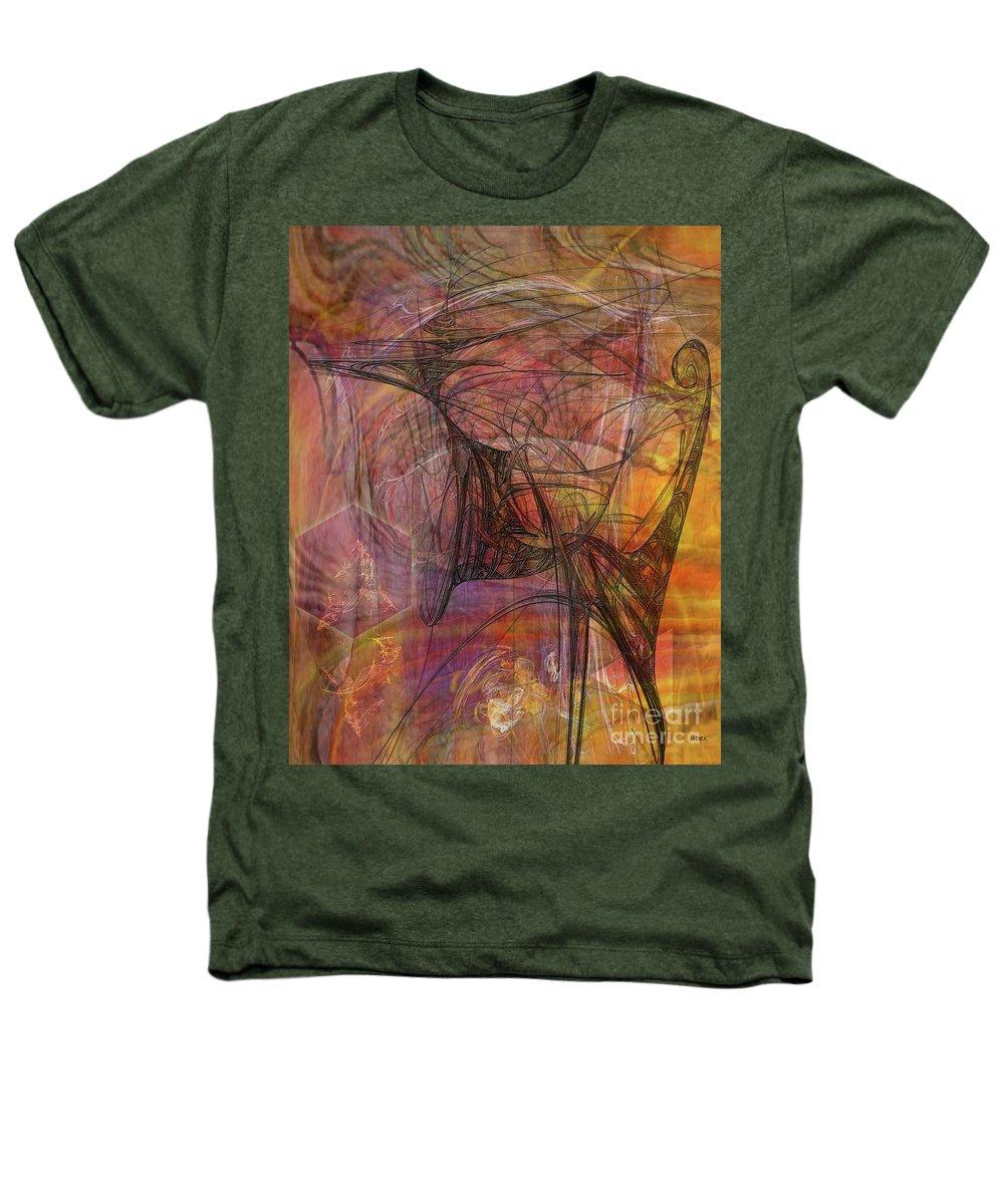 Shadow Dragon Heathers T-Shirt featuring the digital art Shadow Dragon by John Beck