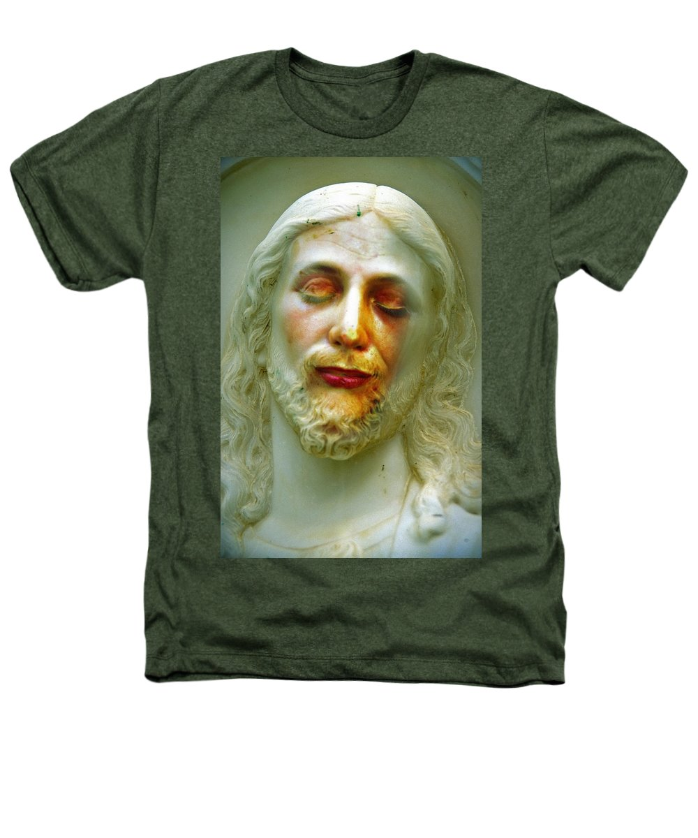 Jesus Heathers T-Shirt featuring the photograph Shesus by Skip Hunt