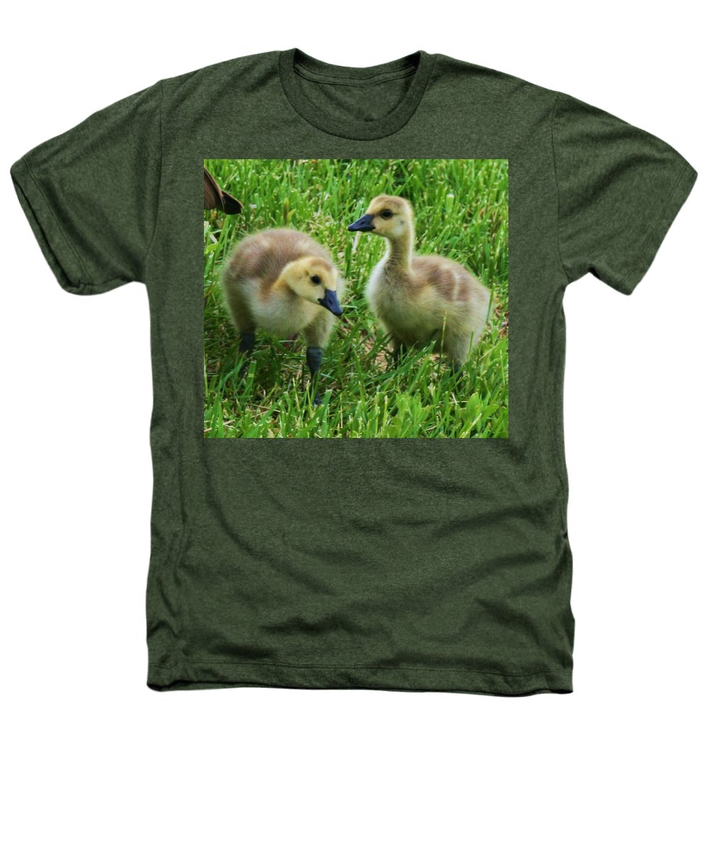 Nature Heathers T-Shirt featuring the photograph Siblings by Angus Hooper Iii