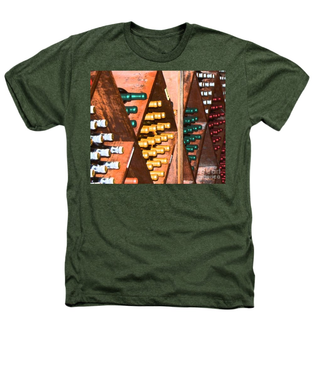 Wine Heathers T-Shirt featuring the photograph Sideways by Debbi Granruth