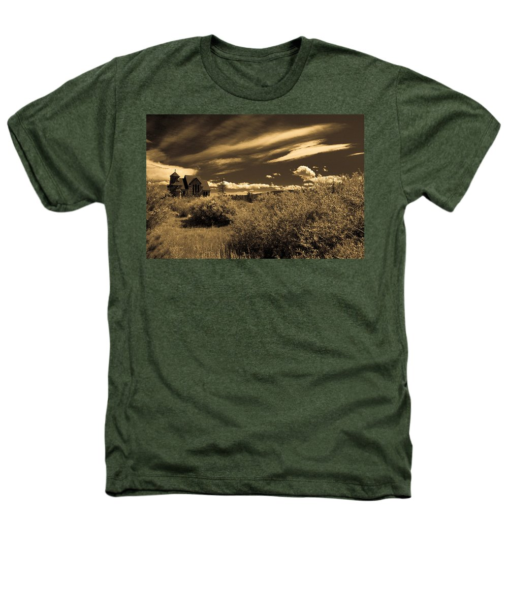 Church Heathers T-Shirt featuring the photograph Small Town Church by Marilyn Hunt