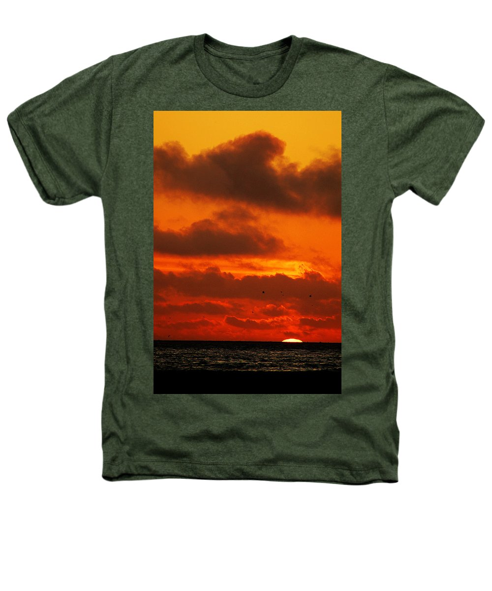 Clay Heathers T-Shirt featuring the photograph Socal Sunset by Clayton Bruster